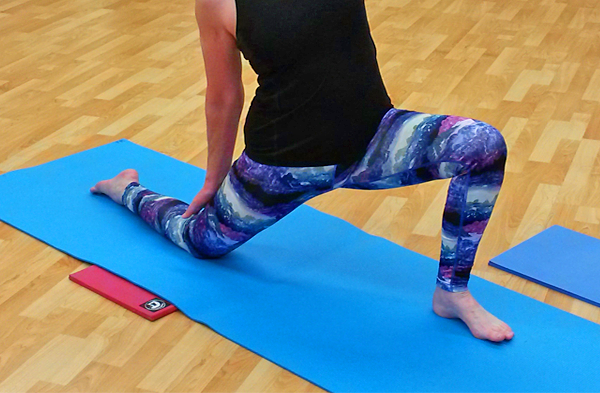 Joint comfort in kneeling yoga poses. Yoga kneeling pads for knees, elbows, wrists and more. USA-MADE